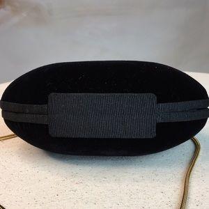 Bags - Black Velvet Evening Bag